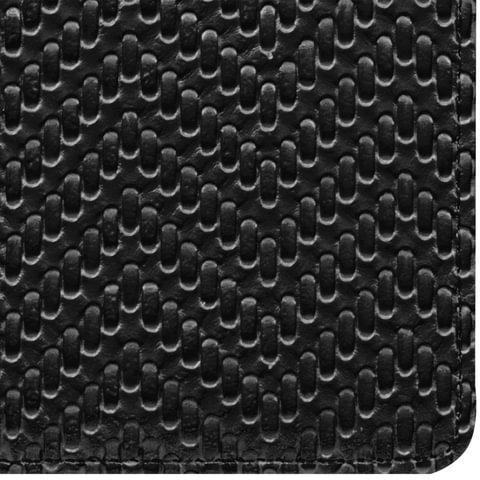 """Еженедельник датированный 2019 г., А6, BRAUBERG """"Instinct"""", глянцевый, магнитная застежка, черный, 95х155 мм"""