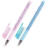 """Ручка гелевая BRAUBERG """"Elegant"""", корпус ассорти, игольчатый узел 0,5 мм, линия 0,38 мм, черная"""