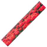 """Линейка 3D, 30 см, BRAUBERG, объемная, """"Красные тюльпаны"""", европодвес"""