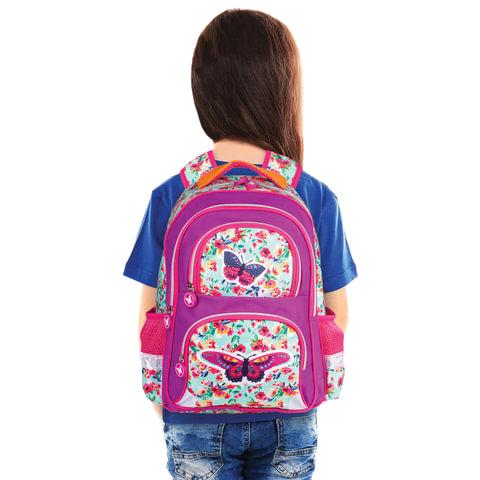 c732024188af ... Рюкзак BRAUBERG с EVA спинкой, для учениц начальной школы,