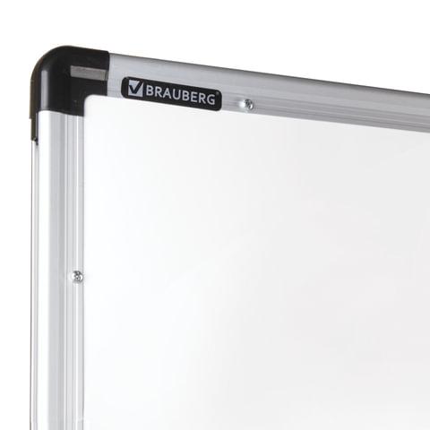 b6f11176ee25 ... Доска магнитно-маркерная BRAUBERG PREMIUM, 2-сторонняя, 90х120 см, на  стенде ...