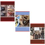 Тетрадь А4, 96 л., BRAUBERG ЭКО, клетка, обложка картон, В ПУТЬ
